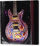 Santana Guitar Canvas Print