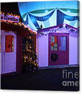Santa's Grotto In The Winter Gardens Bournemouth Canvas Print
