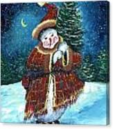 Santas Helper Canvas Print