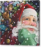 Santa's Toys Canvas Print