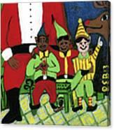 Santa's Workshop Canvas Print