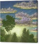Santee Sunset 01 Canvas Print