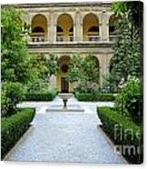 Santo Domingo Courtyard Canvas Print