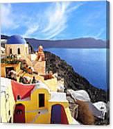 Santorini 08 Canvas Print