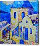 Santorini Afternoon Canvas Print