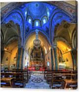 Santorini Cathedral  Canvas Print