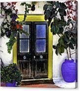 Santorini Doorway 2 Canvas Print