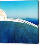 Santorini Island Greece Canvas Print