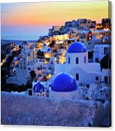 Santorini Island, Greece Canvas Print