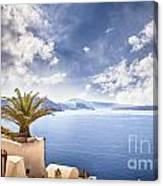 Santorini Island Canvas Print