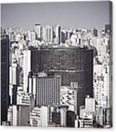 Sao Paulo - Aerial View Canvas Print