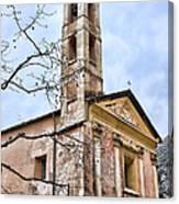 Saorge Church Canvas Print