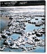 Sapphire Pool Yellowstone National Park Canvas Print