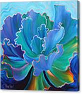 Sapphire Solitaire Canvas Print