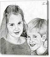 Sarah And Matt Canvas Print