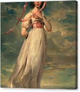 Sarah Goodwin Barrett Moulton Pinie 1794 Canvas Print