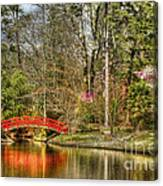 Sarah P. Duke Gardens Canvas Print