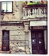 Sarajevo Resilience  Canvas Print