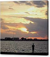 Sarasota 's Sunset Canvas Print