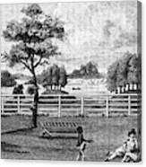 Saratoga, New York, 1794 Canvas Print