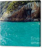 Sardegna Sea Canvas Print