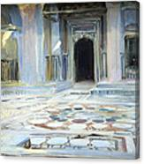 Sargent's Pavement In Cairo Canvas Print