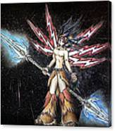 Satari God Of War And Battles Canvas Print