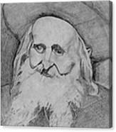 Satmar Rebbe Canvas Print