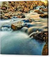 Saturation Of A River Canvas Print