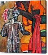 Saturday Night  Bath Canvas Print