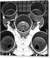 Saturn Five Rocket Work B Canvas Print