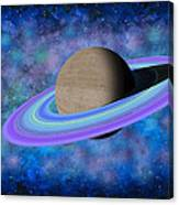 Saturn Journey Canvas Print