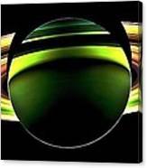 Saturn Shadow Canvas Print