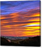 Sauble Sunset Canvas Print