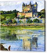 Saumur Chateau France Canvas Print