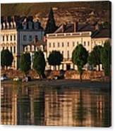 Saumur Reflected Canvas Print
