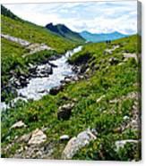 Savage River From Savage River Trail In Denali Np-ak    Canvas Print