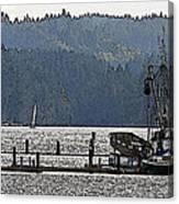 Savannah Jean On Liberty Bay Canvas Print