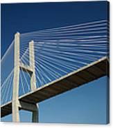 Savannah River Bridge Georgia Usa Canvas Print