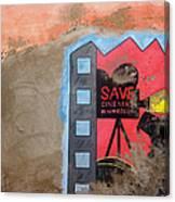 Save Cinema In Morocco Canvas Print