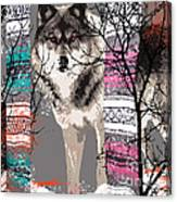 Save The Wolves Canvas Print