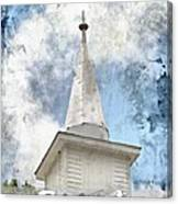 Saved By Grace Canvas Print