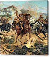 Saving The Guns At Colenso, 1899 Canvas Print