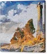 Savudrija Lighthouse Canvas Print