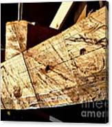 Saw Tracks On The Santa Maria Canvas Print