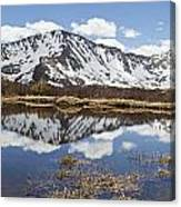 Sawatch Range In Spring Canvas Print