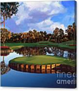 Sawgrass 17th Hole Canvas Print