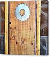 Sawmill Door Canvas Print
