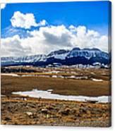 Sawtooth Ridge Canvas Print
