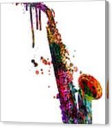 Saxophone 2 Canvas Print